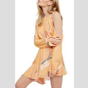 FREE PEOPLE Clear Skies Cold Shoulder Tunic-XS,S,M